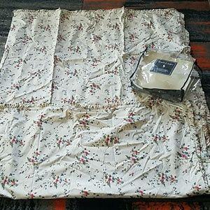 Ralph Lauren pebble  path twin comforter cover